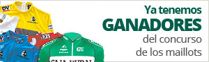 Ganadores del concurso maillots Vuelta al Pa�s Vasco